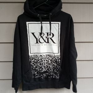 YOUNG & RECKLESS HOODIE MEDIUM